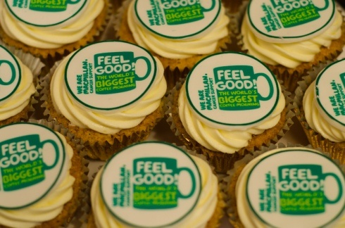 Macmillan Coffee Morning Cupcakes