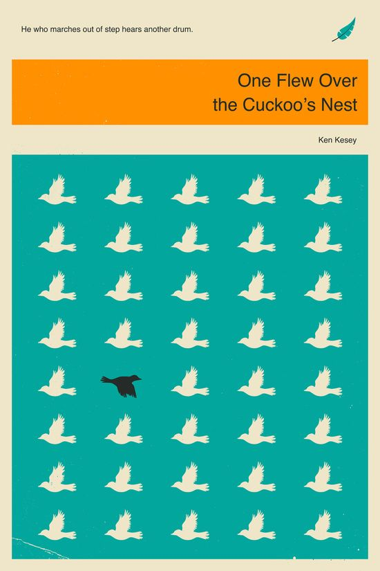 One Flew Over the Cuckoos Nest Art Print