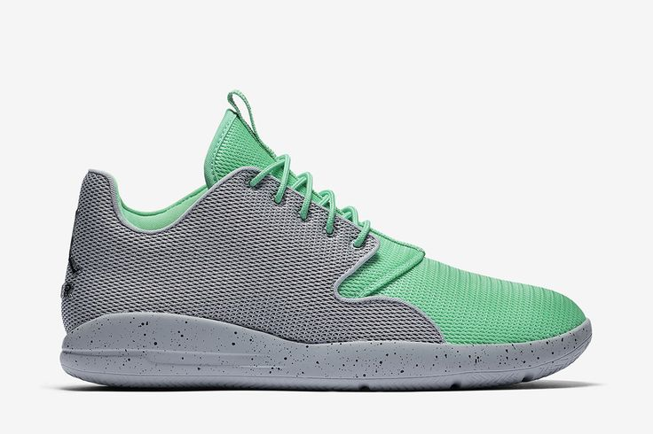 Jordan Eclipse: Wolf Grey/Green Glow/Cool Grey/Black