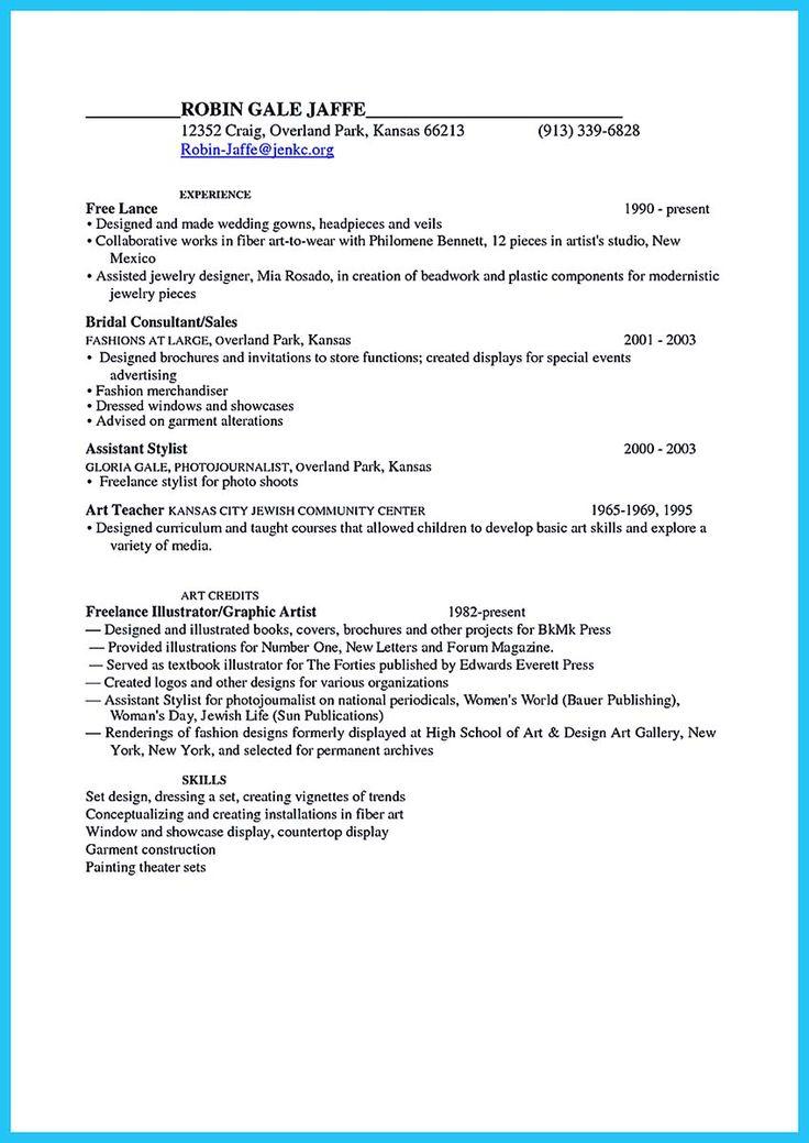 Fashion Resume Objective Fashion Resume Objective Sample