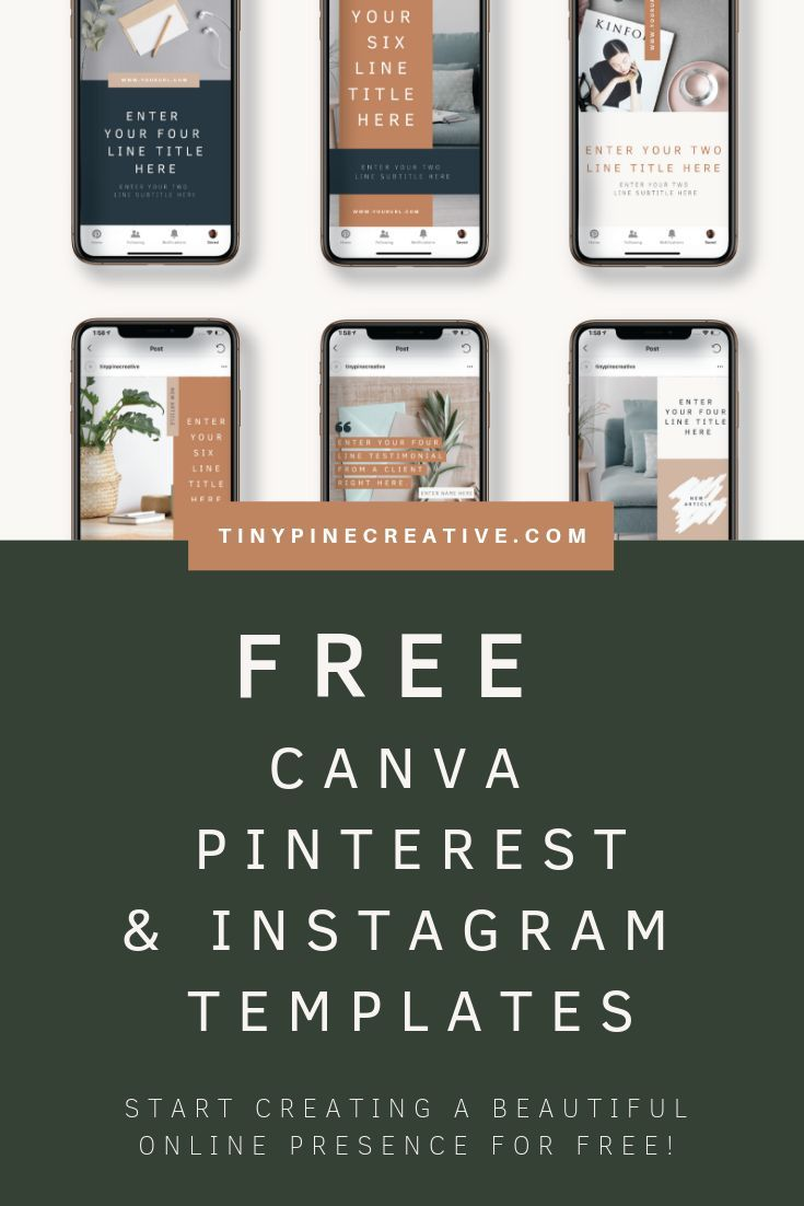 Free Pinterest Templates Free Instagram Templates Instagram Template Instagram Template Design Pinterest Templates