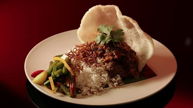 MKR Recipes - Beef Rendang with Coconut Rice and Turmeric Pickle  - Yahoo7