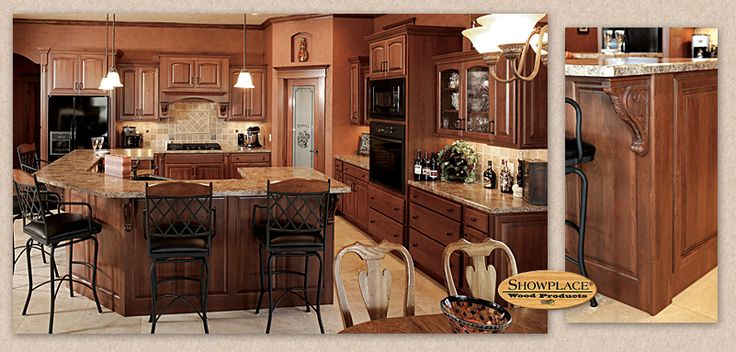 The l shaped kitchen design centers on a wrap around for L shaped dining room kitchen