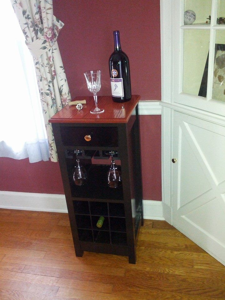 Mini Wine Bar that was auctioned off for EOD Wounded Warrior Foundation