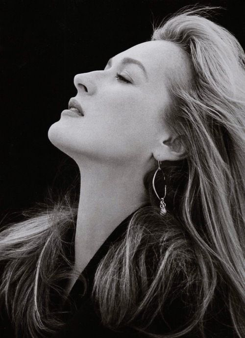 "Meryl Streep (1988) A career based on talent. Never debases herself by posing for the usual demeaning ""actress photos."" Known for what she does in her profession, not what she wears, who she fucks and what houses she owns. Also doesn't sell any shit to anyone. You won't see her selling Lazyboy furniture! (Still-Life) ...Thank you Diane, https://www.pinterest.com/keatondiane/lets-just-say-it-wasnt-pretty/"