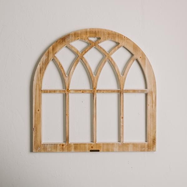 arched wooden window frame - Wooden Window Frames