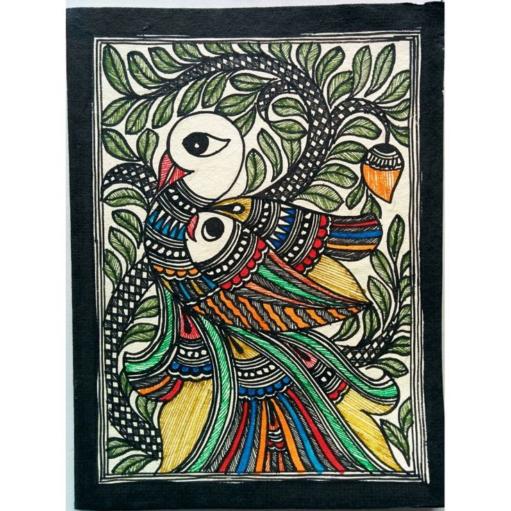 Shop Madhubani Greeting Card in India, Buy Greeting Card online