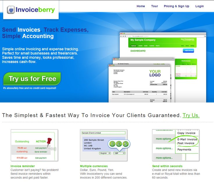 31 best Invoiceberry images on Pinterest Small businesses - send invoices