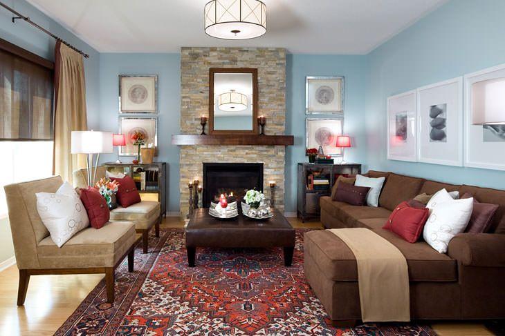 Salle de séjour et chambres familiales   Jane Lockhart Interior Design