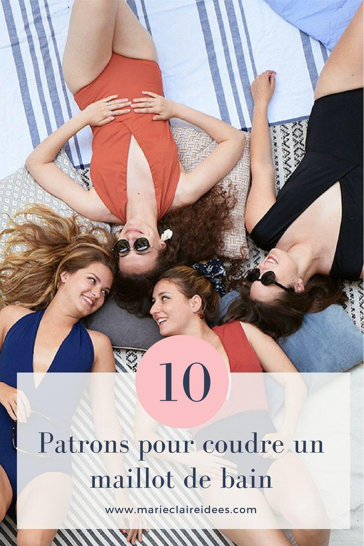 10 patrons pour coudre un maillot de bain / Sewing patterns swimming patterns