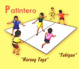 Patintero... my favorite Pinoy childhood game