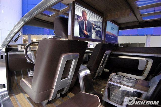 Ford Super Chief concept truck, interior