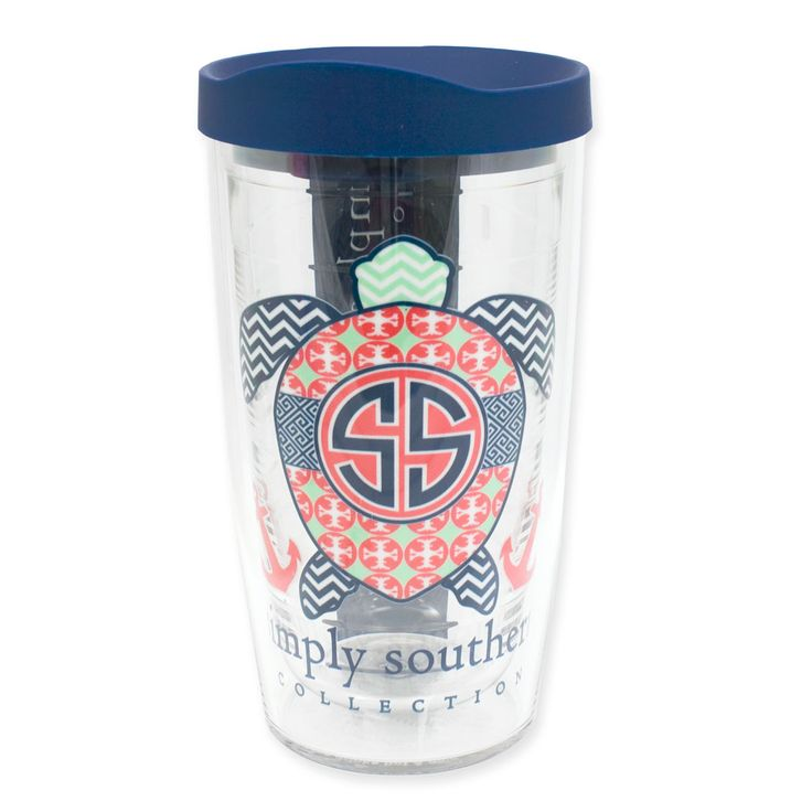 16oz Simply Southern Turtle Tervis Tumbler