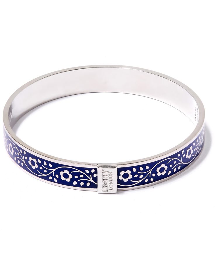 Liberty London Pemberley Solid Floral Bracelet   Accessories   Liberty.co.uk