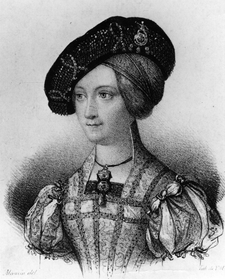Lady Jane Grey: great-granddaughter of Henry VII, cousin of Edward VI; ruled for 9 days