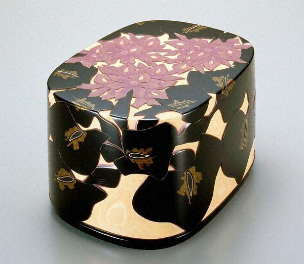 彫漆布袋葵文手箱 文化遺産オンライン
