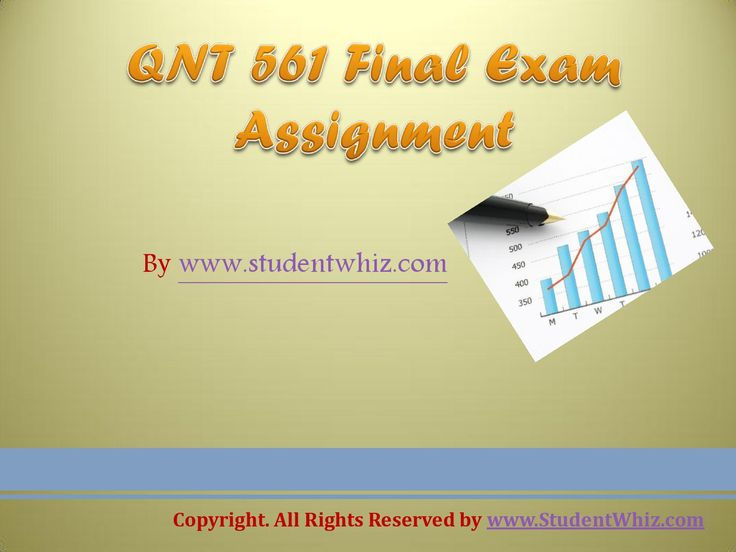 A team of learned professional is at your service to help you get through the difficult QNT 561 Final Exam 30 Questions (University of Phoenix)