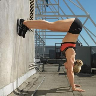 L Stand - At-Home CrossFit Workout Routine - Shape Magazine