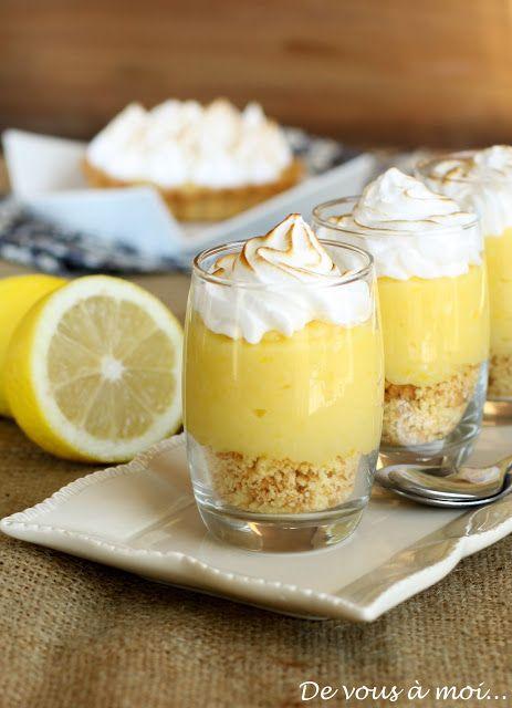 De vous à moi...: Tarte au Citron Meringuée... Revisitée!http://devousamoi-dominique.blogspot.fr/2012/01/tarte-au-citron-meringuee-revisitee.html