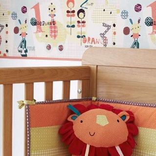 Jamboree Wallpaper Border - $16.95 - Colourful and full of character detail, this border will bring your nursery to life. The perfect finishing touch for your nursery.   A colourful, fun design featuring the Jamboree characters #sweetcreations #kids #baby #bedroom #nursery #decor #wallpaper #Jamboree