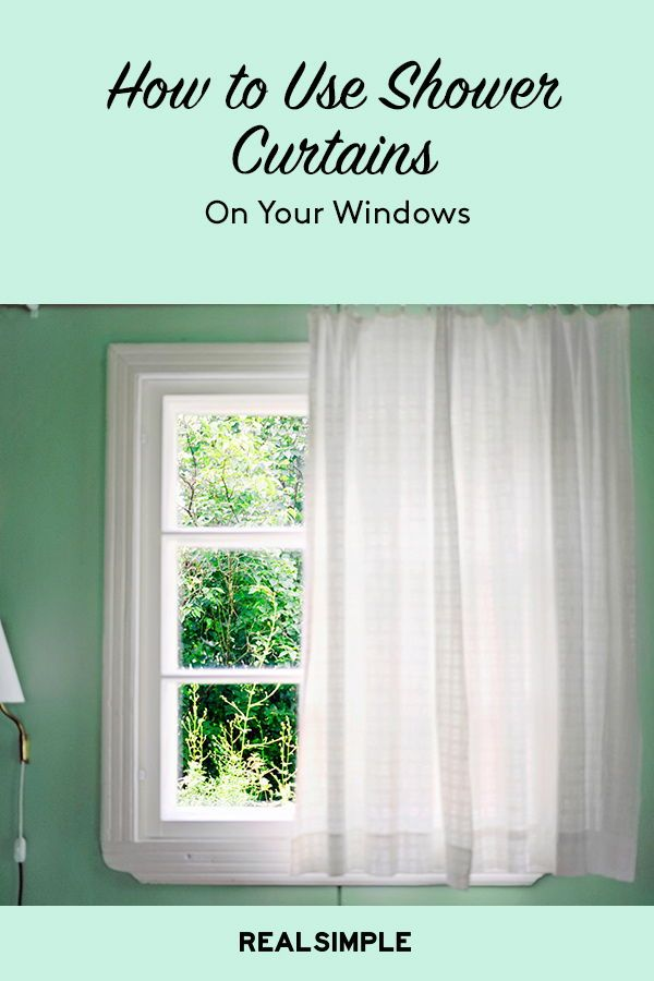 Can You Use Shower Curtains On Windows We Asked The Pros With