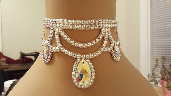 Check out this item in my Etsy shop https://www.etsy.com/listing/270138396/pendant-choker-ballroom-dance-ballroom