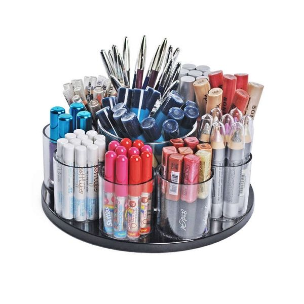Best Organizer Storage Ideas Images On Pinterest Storage - Cosmetic makeup organizer wood countertop organizer by lessandmore