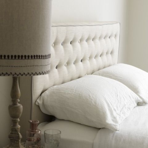 What about a headboard like this on a divan bed?