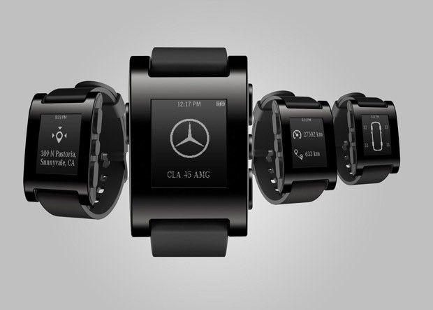 Mercedes-Benz integra relógios inteligentes aos seus automóveis