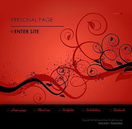 Creative ideas to design personal website. Web design family. Design blogs. Create a blog
