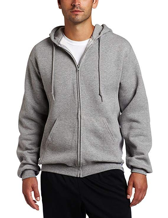 cceb7306a Russell Athletic Men's Dri Power Full Zip Fleece Hoodie | for men ...