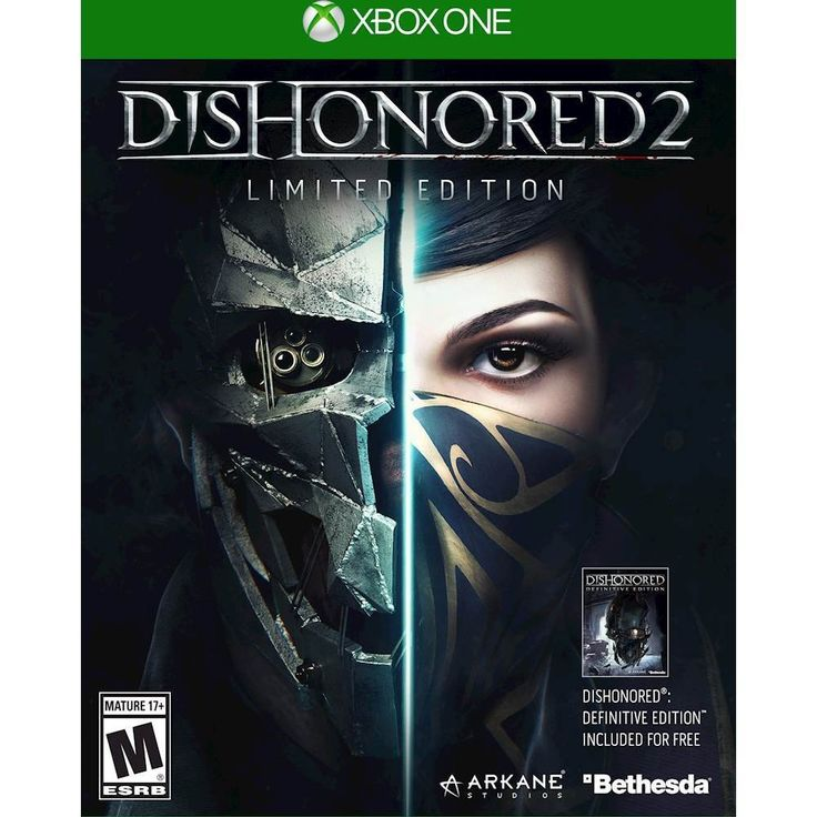 Dishonored 2 Limited Edition - Xbox One - Front Zoom