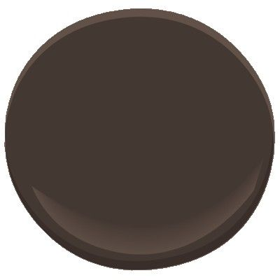 Benjamin Moore Paint...bittersweet chocolate (good for repainting the bathroom cabinet)