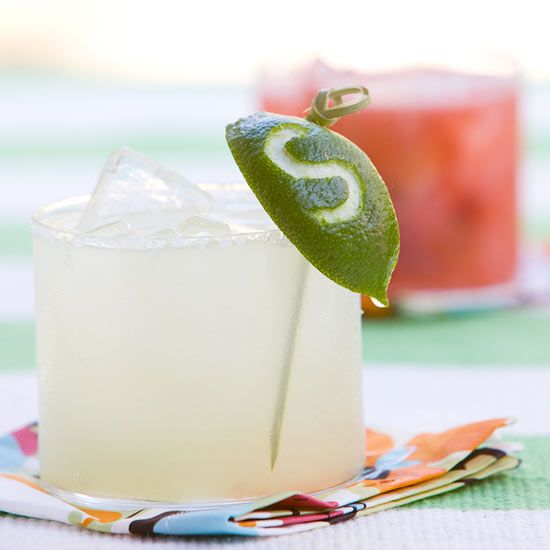 Use lime wedges and a zester to make monogrammed drink tags for party guests! Try them in one of our 25 refreshing summer drinks: http://www.bhg.com/recipes/drinks/seasonal/summer-beverage-recipes/?socsrc=bhgpin062712: Monogram, Initial, Lime Drinks, May 5, Holidays, Limes, Party Ideas