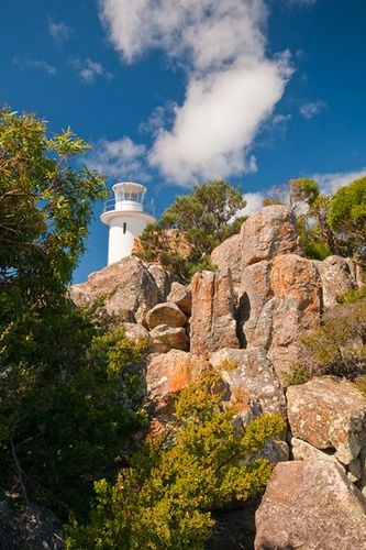 Cape Tourville Lighthouse, Freycinet National Park, Tasmania | by Strabanephotos