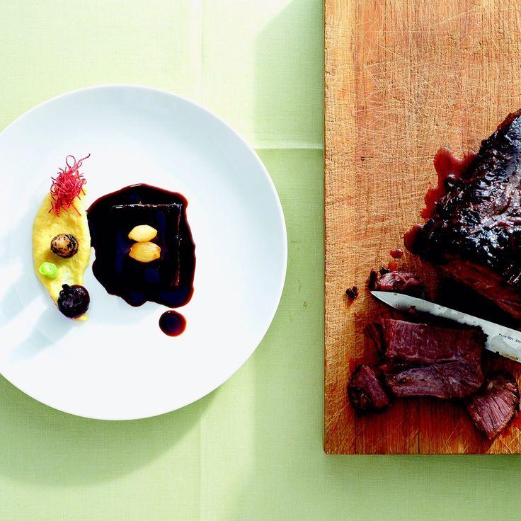 Sagenhaft gutes Fleisch in Jacobs Restaurant in Blankenese   creme hamburg