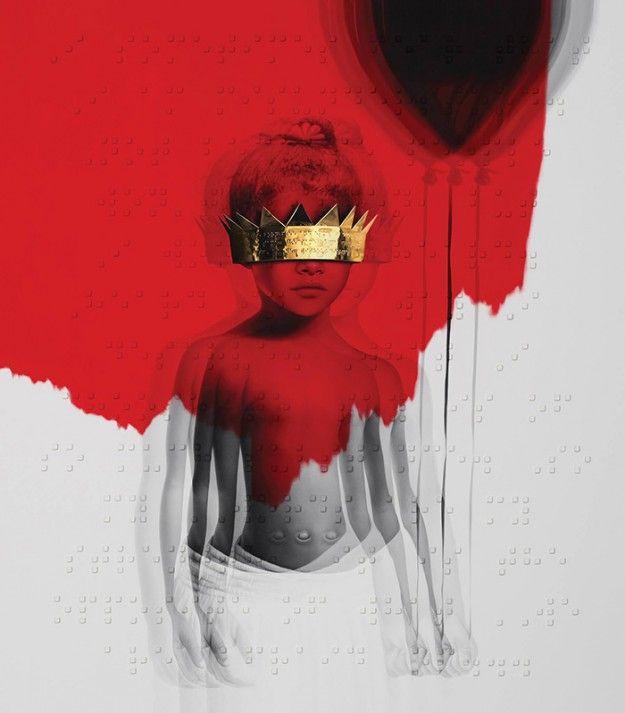 Rihanna-ANTI-capa do single