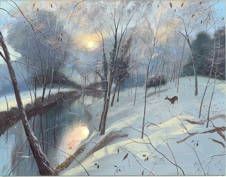 Nicholas Hely Hutchinson   Winter Morning