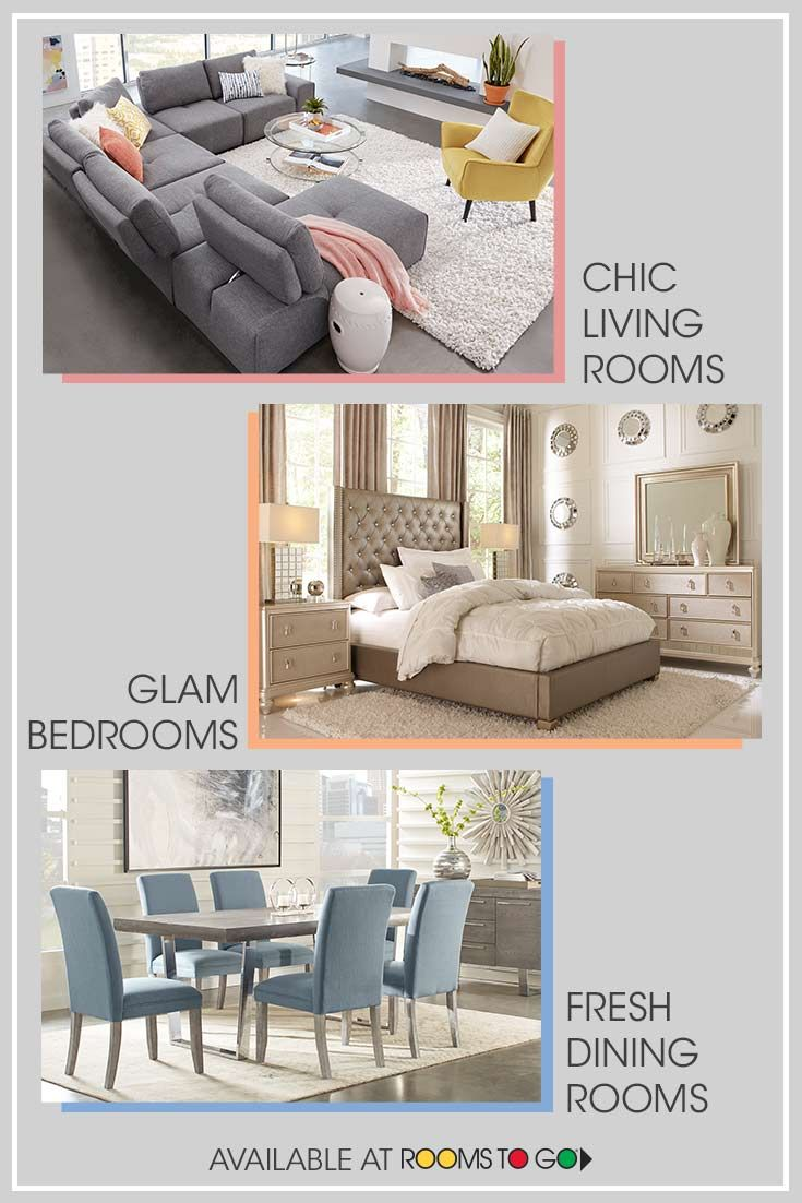 From Living Rooms To Bedrooms To Dining Rooms And More Rooms To