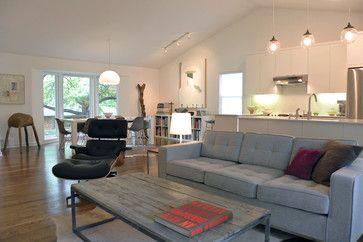 Matt & Mary Emma Hawthorne - industrial - living room - dallas - Sarah Greenman