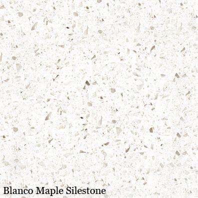 blanco maple silestone for 3rd floor bath shower niche/curb