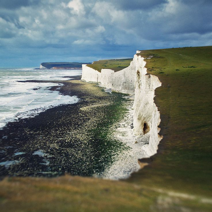 Seven Sisters, East Sussex, England by Con Ryan