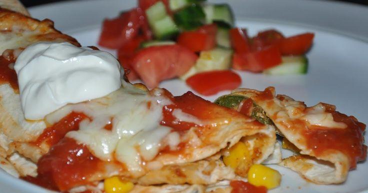 Opskrift til 2 pers. Uhm elsker mexicask mad, det er ihvert fald en af mine livretter, den her ret er nem og ikke kræver ikke så meget. ...