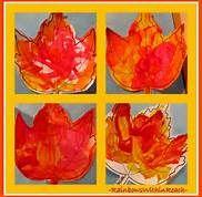 fall color oak tree preschool printable - Bing Images
