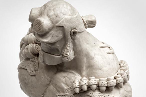 Hellboy Sculpture by Fatih Senay