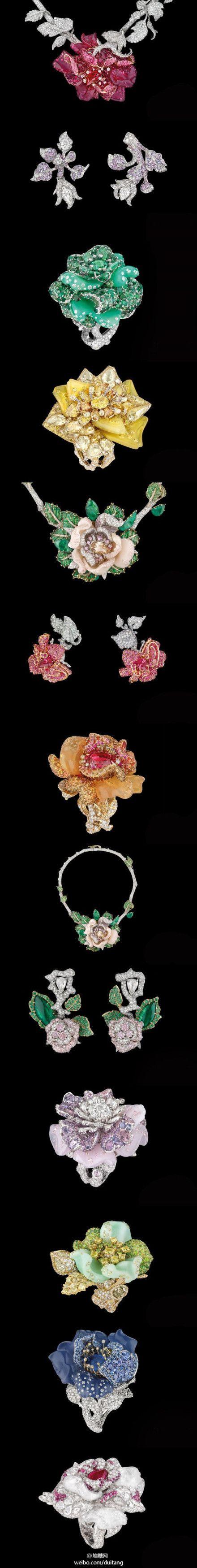 Vintage Dior flowers