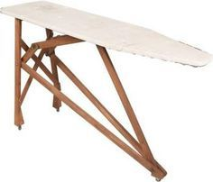 How to Refinish Old Wooden Ironing Boards