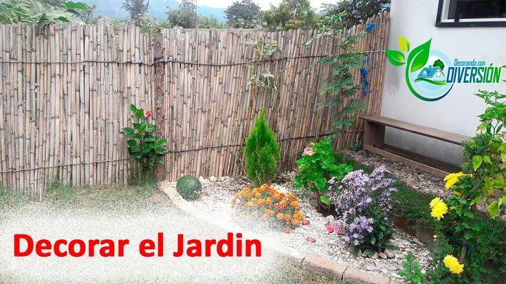 23 best videos de ideas para decorar images on pinterest - Como decorar el jardin ...