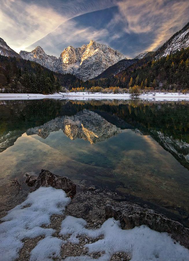 Created by nature: Lake Jasna,Kranjska Gora, Slovenija