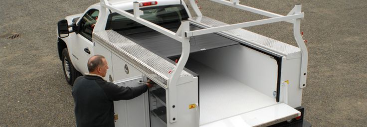 The Pace-Edwards Utility Bedlocker Retractable hard tonneau cover ...